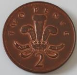 2 pence Marea Britanie 2001