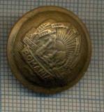 Y 1913 NASTURE METALIC -MILITAR -PERIOADA RSR- PENTRU VESTON-PENTRU COLECTIONARI