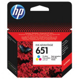 Cartus cerneala C2P11AE (651) color HP 300 pagini