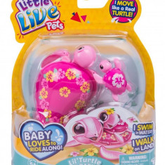 Testoasa electronica Little Live Pets cu pui S4 - Laila