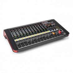 Power Dynamics PDM-M1204A, mixer muzical, 12 intrări de microfon, procesor multi-fx 24 biți, player usb
