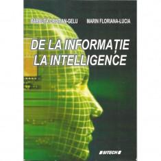 De la informatie la intelligence - Barbuta Cristian-Gelu, Marin Floriana-Lucia