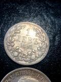 Bulgaria ... Lev si 2 leva 1891 , argint, Europa