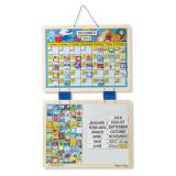 Cumpara ieftin Calendar din lemn magnetic Melissa and Doug