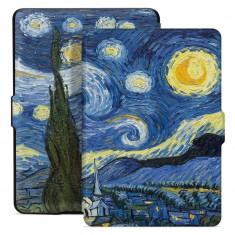 Husa Tech-Protect Smartcase Amazon Kindle Paperwhite IV/4 (2018) Starry Night
