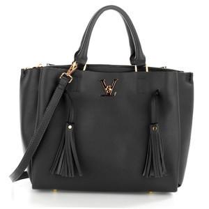 Anna Grace AG00551 geantă în mână neagra foto