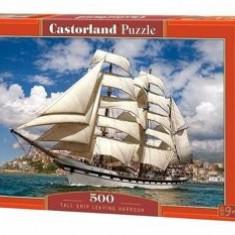 Puzzle Vapor cu vele, 500 piese