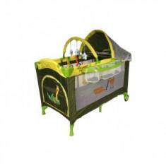 Cumpara ieftin Patut pliabil Pentru Copii DeLuxe Plus-Go Green Giraffe
