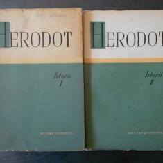 HERODOT - ISTORII 2 volume {brosate}