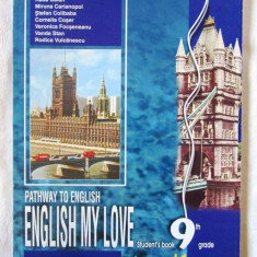 Pathway to English ENGLISH MY LOVE, Student's book, 9th grade - L1