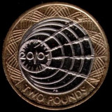 Moneda jubiliara ANGLIA - 2 lire 2001 - MARCONI
