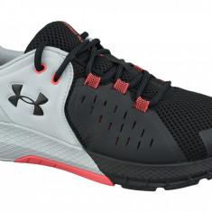 Pantofi de instruire Under Armour Charged Commit TR 2.0 3022027-101 pentru Barbati, 44.5, 45.5, 46, 47, 47.5, Negru