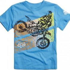 Tricou Copii Fox Onaga culoare albastru deschis marime M Cod Produs: MX_NEW 18789116KMAU