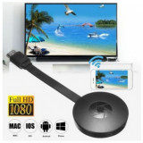 Chromecast Streaming Media Player pentru TV 4K / HD Cast 2.0 Hdmi,