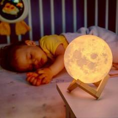Lampa Veghe Luna, Nu, Alb