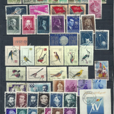 ROMANIA 1958/59 – SERII STAMPILATE, DB27