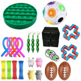 Set jucarii antistres, 23 piese, multicolor