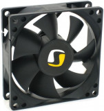 Ventilator SilentiumPC Zephyr 80 v2, 80mm, 1400 rpm (Negru)