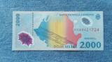 2000 Lei 1999 Romania / Eclipsa totala de soare / seria 0421724