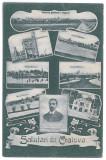 125 - CRAIOVA, Bibescu Park, Romania - old postcard - unused - 1912