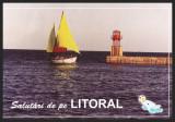 SALUTARI DE PE LITORAL – CARTE POSTALA DUPA 1990 - CP NECIRCULATA #colectosfera