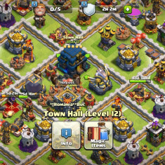 Cont clash of clans Th12 lv 185