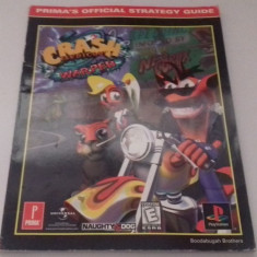 Crash Bandicoot Warped - strategy guide