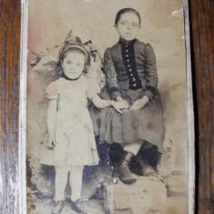 FOTOGRAFIE VECHE - CDV - ATELIER FOTOGRAFIC BOTAR TURDA - INCEPUT DE 1900