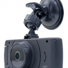 Camera auto DVR PNI Voyager S1400, Full HD 1080p, LCD 2.7inch, G-Sensor, Dual Camera, WDR (Negru)