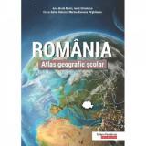 Atlas geografic scolar - Romania - Ana-Maria Marin,Ionut Savulescu,Cezar-Iulian Buterez,Marina-Ramona Virghileanu