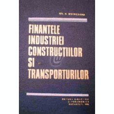 Finantele industriei constructiilor si transporturilor