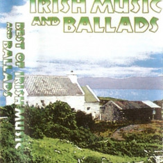 Caseta The Very Best Of Irish Music And Ballads, muzica irlandeza