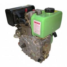 Motor motocultor / motosapa Diesel 7 CP (model 178F) cu electromotor si ax...