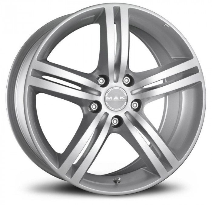 Jante MERCEDES CITAN (N1) 5 FORI 6.5J x 16 Inch 5X108 et35 - Mak Veloce L Silver - pret / buc