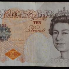 10 Lire Sterline Anglia Pounds Marea Britanie Charles Darwin - Chris Salmon 2012