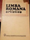 LIMBA  ROMANA  ARTISTICA  STEFAN MUNTEANU