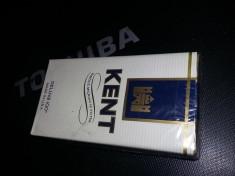 Pachet tigari KENT Sigilat perioada CEAUSISTA,Deluxe 100,made in USA,Tr.GRATUIT foto