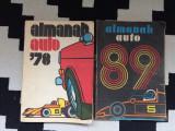 almanah auto 1978 RSR plus bonus almanah auto 89 care e deteriorat lipsa pagini