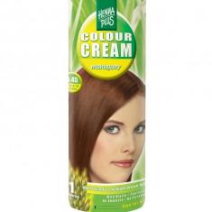Crema Nuantatoare de Par HennaPlus Colour Cream Mahogany 6.45