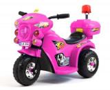 Mini Motocicleta electrica cu 3 roti LQ998 STANDARD Roz