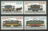Germania DDR 1986 - Tramvaie 4v. neuzat,perfecta stare(z)
