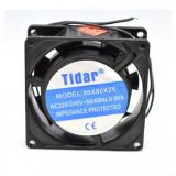 Cooler Ventilator Metalic 220V 0.08A 80x80x25mm Tidar