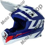 MBS Casca motocross Ufo Plast Quiver Ontake, albastru/alb, XS, Cod Produs: HE121XS