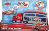 Camion spalatorie Mack Cars Culori Schimbatoare cu masinuta, Mattel