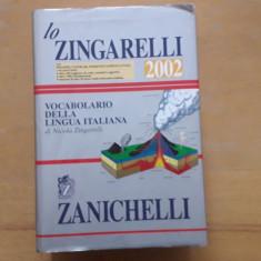 Lo Zingarelli 2002 cu CD - Dictionar limba italiana