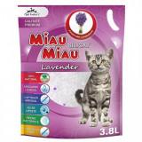 Asternut Silicat lavanda Miau-Miau 3.8 L