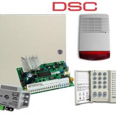 Kit centrala alarma exterior DSC