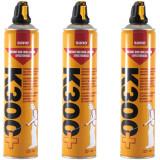 3x Sano k300+, insecticid universal, pentru gandaci, plosnite, purici, 3 x 630ml