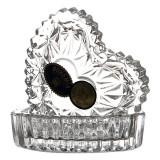 Bomboniera/Caseta inimioara cristal Bohemia Cod Produs 845
