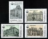 Romania 2000, LP 1525, Palate din Bucuresti, seria, MNH!, Arhitectura, Nestampilat